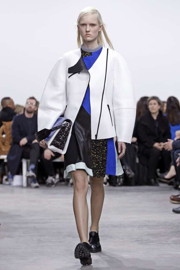 The Proenza Schouler Fall 2014 collection is modeled during Fashion Week. Photo: Kathy Willens, Associated Press