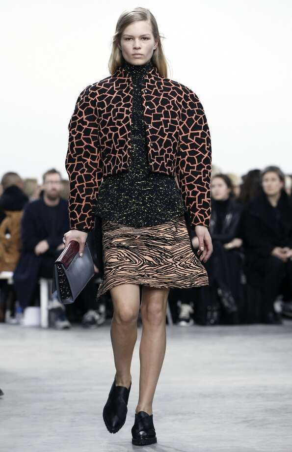 The Proenza Schouler Fall 2014 collection is modeled. Photo: Kathy Willens, Associated Press