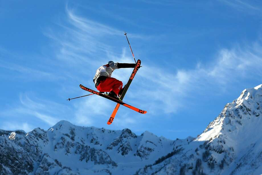 Bobby Brown of the United States competes in the Freestyle Skiing Men's Ski Slopestyle Qualification during day six of the Sochi 2014 Winter Olympics at Rosa Khutor Extreme Park on February 13, 2014 in Sochi, Russia. Photo: Mike Ehrmann, Getty Images
