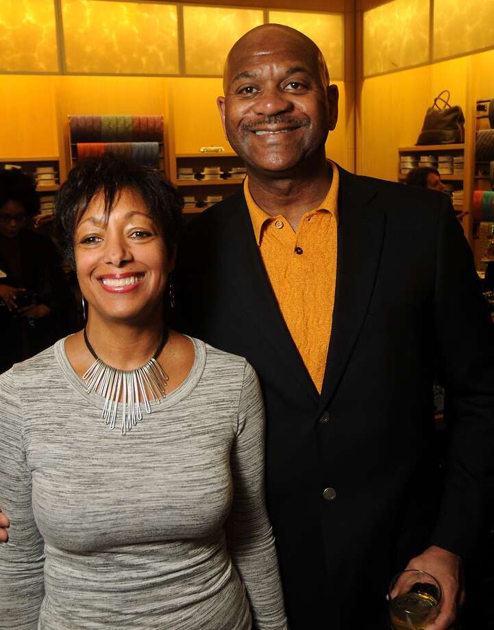 Victoria and Tony Washington.(Dave Rossman photo) Photo: Dave Rossman, For The Houston Chronicle