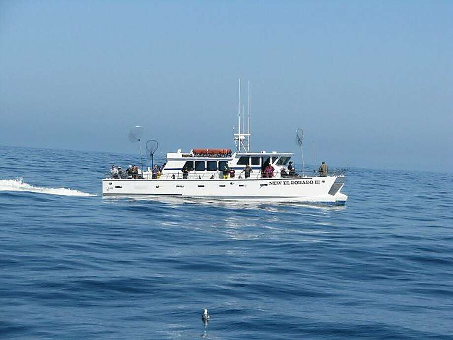 Facebook's newest commuting boat, a 30-person catamaran named the New El Dorado III, shown here on a 2011 fishing trip, is chartered from Tideline Marine Group and carries employees from San Francisco to Redwood City. Photo: Courtesy, Robert Gallia