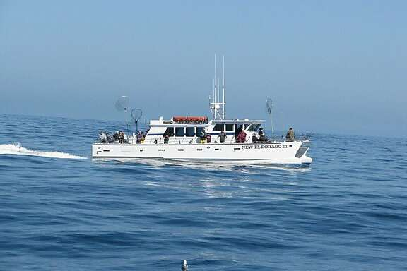 Facebook's newest commuting boat, a 30-person catamaran named the New El Dorado III, shown here on a 2011 fishing trip, is chartered from Tideline Marine Group and carries employees from San Francisco to Redwood City.
