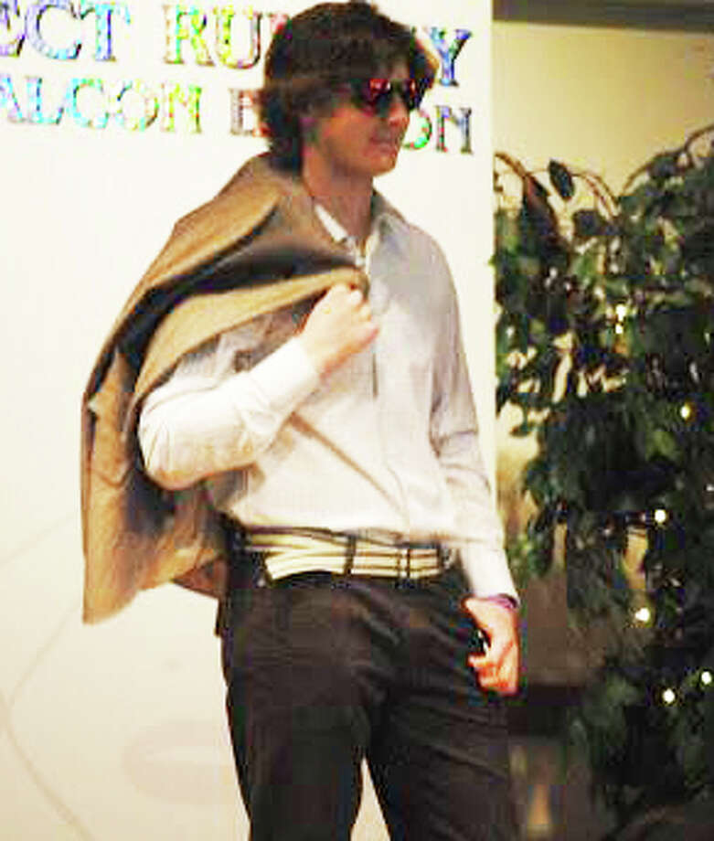 The Project Runway: Falcon Edition fashion show is Fairfield Ludlowe High School PTA's biggest annaul fundraiser. Justin Knowles was a model in last year's show. Photo: Contributed Photo / Fairfield Citizen