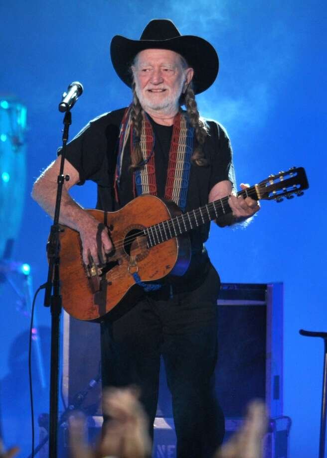 Monday: The country music icon gets earns a 5th-degree black belt in the art of Gong Kwon Yu Sul, a modern Korean martial art. (Willie also turns 81 on April 30). Photo: John Shearer, INVISION/AP