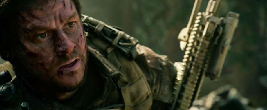 "Mark Wahlberg in ""Lone Survivor."" Photo: Universal Pictures 2013"