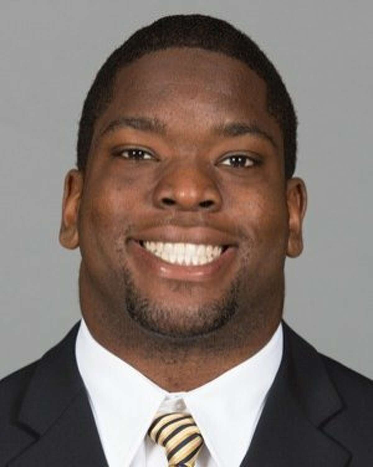 This undated photo released by GoldenBearSports.com shows California football player Ted Agu. Agu died Friday morning, Feb. 7, 2014. He was 21. The school announced Agu's death and said its thoughts and prayers were with Agu's family, friends and teammates. The school said it would give more information about the circumstances later. (AP Photo/GoldenBearSports.com, Nathan Phillips) MUST CREDIT GOLDENBEARSPORTS.COM