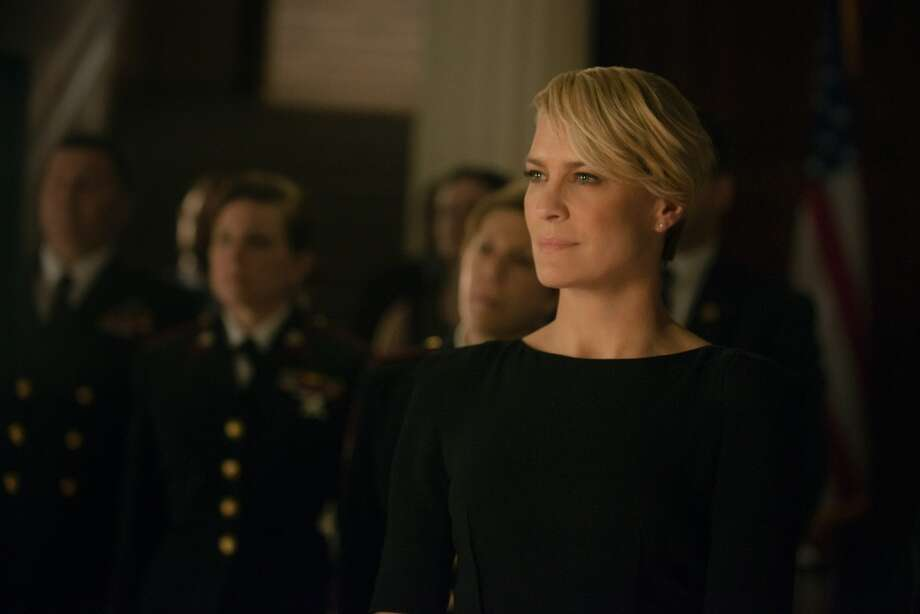 """Robin Wright in season 2 of Netflix's """"House of Cards."""" Photo credit: Nathaniel Bell for Netflix. Photo: Nathaniel E Bell"""