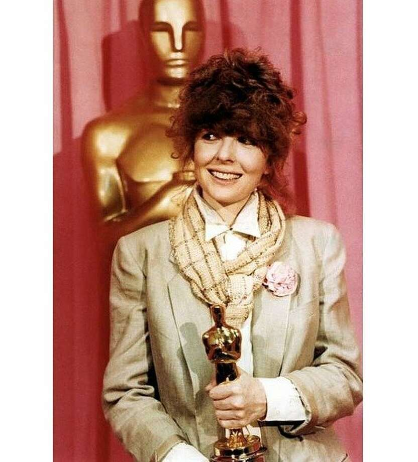 "Diane Keaton won the gold in 1978 as the title character in ""Annie Hall,"" her first Woody Allen movie. Photo: Source Forge"