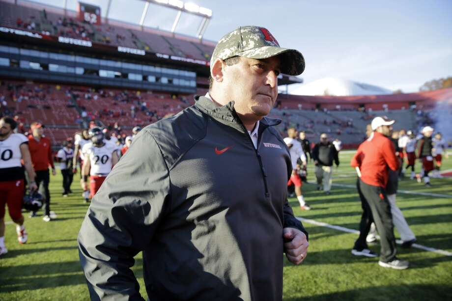FILE - In t his Nov. 16, 2013, file photo, Rutgers defensive coordinator Dave Cohen walks off the field after an NCAA college football game against Cincinnati in Piscataway, N.J.  A law firm's investigation has determined that Cohen, a former assistant football coach at Rutgers, did not bully a former player and there was no retaliation against the player. The report issued Tuesday, Jan. 28, 2014, also found the university responded appropriately.  (AP Photo/Mel Evans, File) Photo: Associated Press
