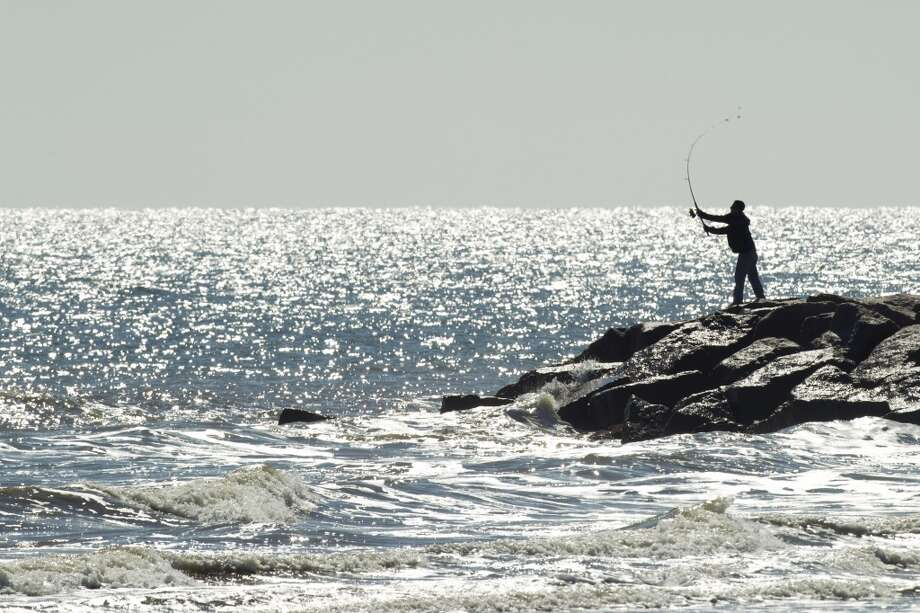 Galveston Island beachesGet on I-45 and head south until the road ends.Public fishing from beaches and jetties. Photo: Houston Chronicle