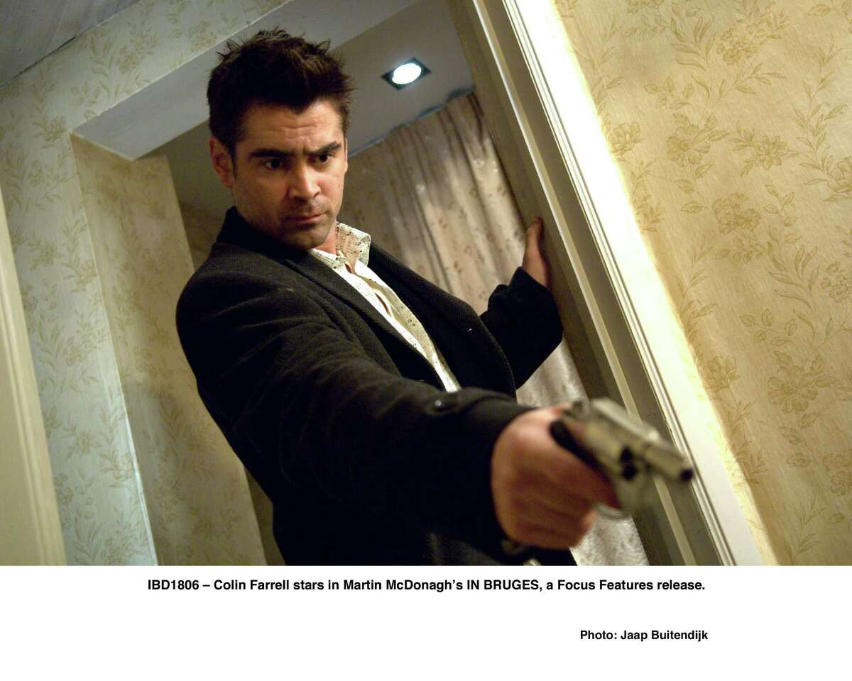"""Colin Farrell plays a hit man with troubles in the crime-thriller """"In Bruges."""""""