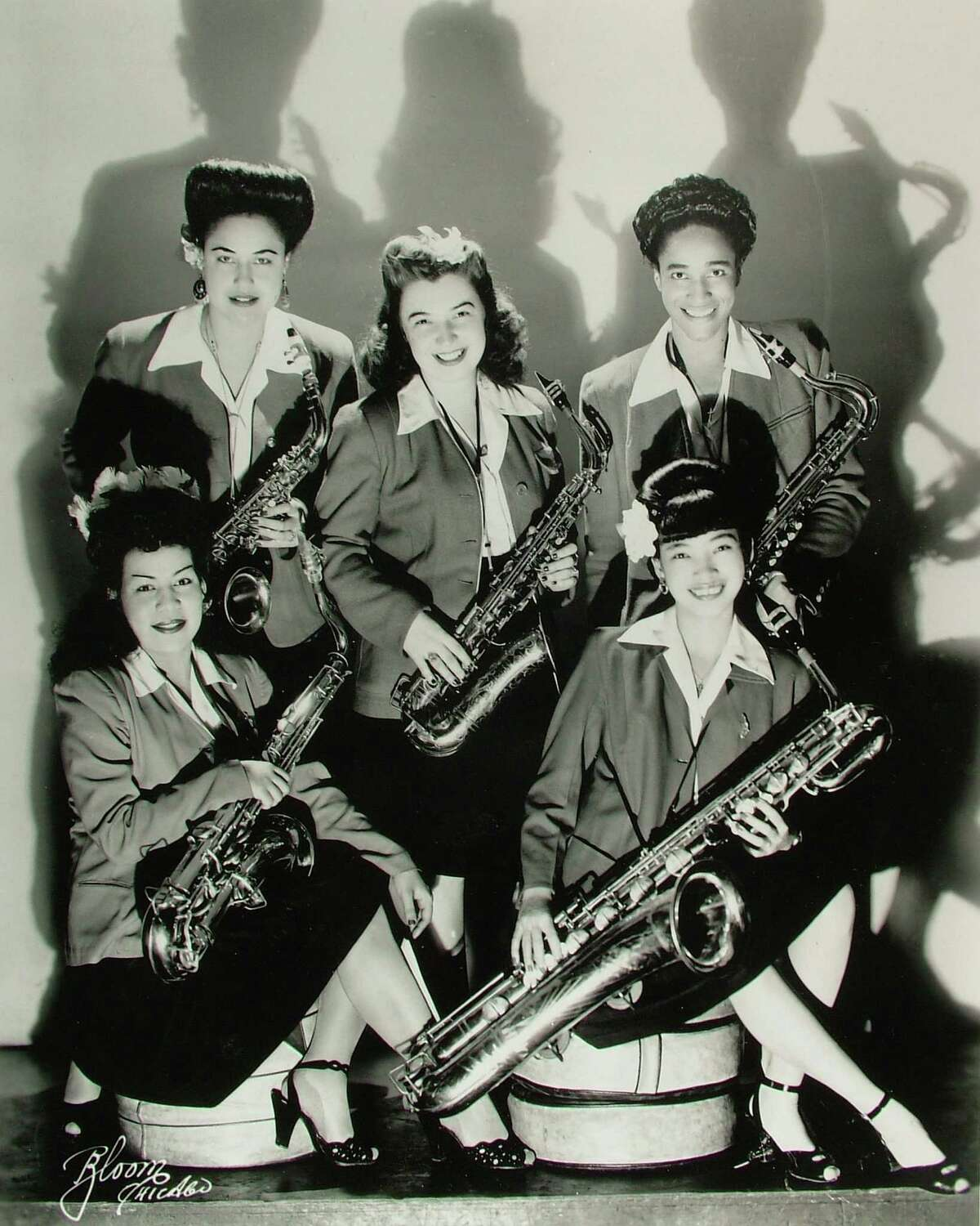 """""""The Girls in the Band"""" examines issues of inequality faced by female musicians, such as the members of the sax section of the International Sweethearts of Rhythm."""