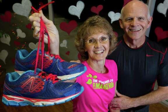 Ron and Karen Berglund of Kingwood have run 107 marathons together.