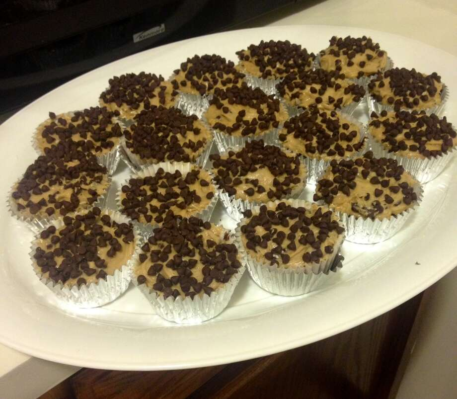 Try new baking recipes! For example, fudge brownie cupcakes with cookie dough frosting. Photo: Courtney Suitto