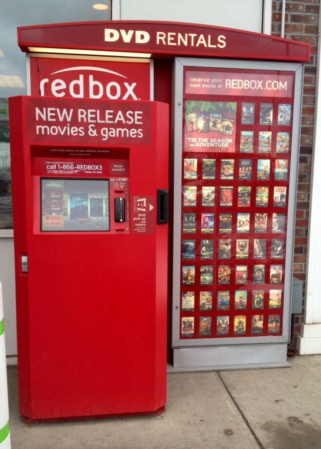 Visit your local Redbox and rent the newest movies. Order take-out and enjoy the evening.  Courtney Suitto Photo: Courtney Suitto