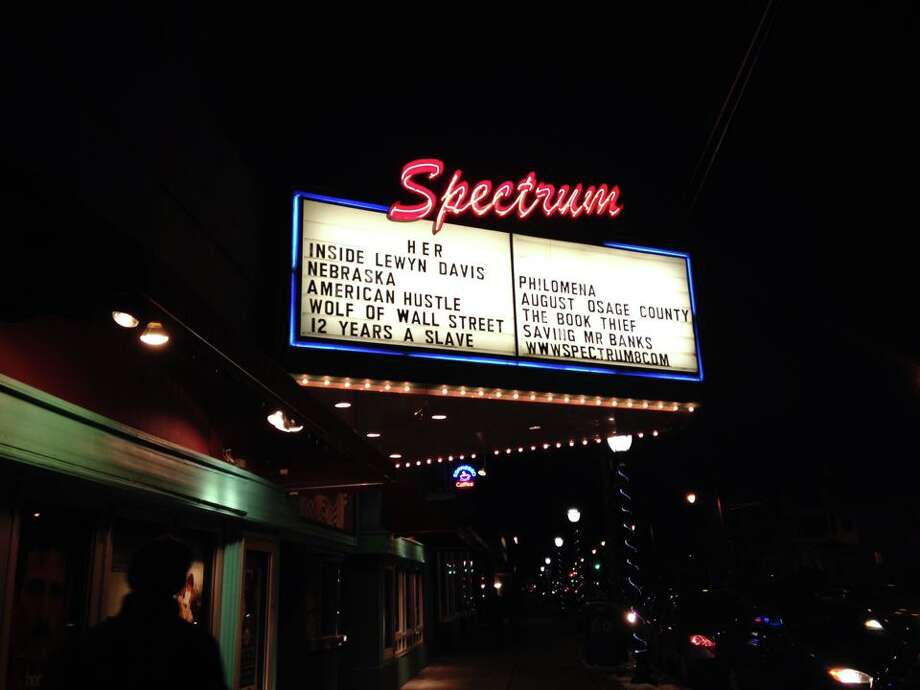 Take advantage of local theaters. Spectrum, Madison and Scotia Cinema are great local alternatives to Regal or Bow Tie. Photo: Rachel Bahor
