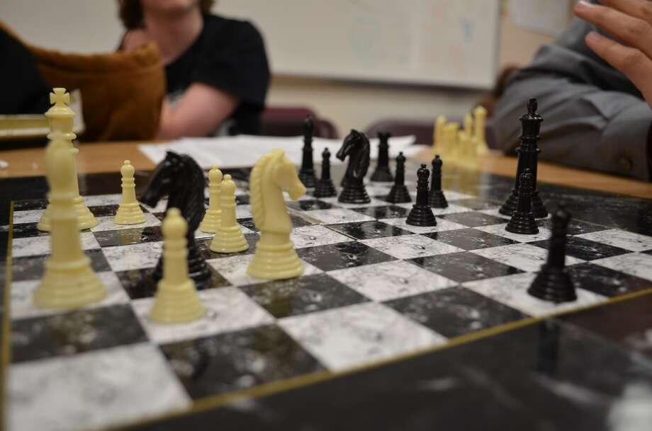 Challenge a friend to a game of chess. Photo: Audrey Goodemote