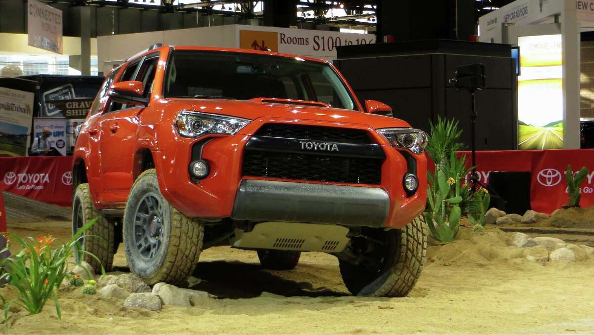 Most SUVs and trucks may never leave the pavement, but for those that do, Toyota is going to bundle popular wheel, tire and suspension gear. The new TRD Pro packages are for 2015 4x4 Tundras, Tacomas and 4Runners like this.
