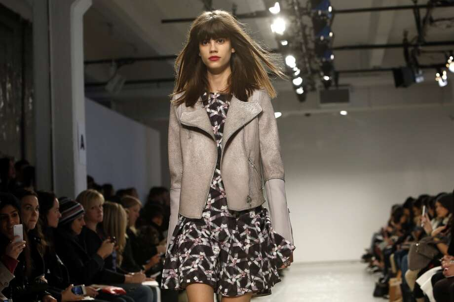 The Rebecca Taylor Fall 2014 collection is modeled during Fashion Week in New York, Saturday, Feb. 8, 2014. (AP Photo/Jason DeCrow) Photo: Jason DeCrow, Associated Press