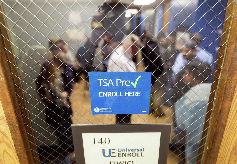 An enrollment center opened recently for the Transportation Security Administration's PreCheck program, which offers a speedier security process for airline passengers. Photo: Craig Hartley, Freelance / Copyright: Craig H. Hartley