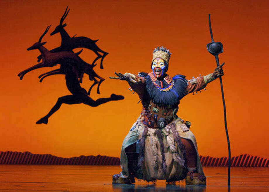 """The Lion King"" will make its third run in San Antonio, this time for a month, Dec. 10-Jan. 4, 2015. Photo: Courtesy Joan Marcus"