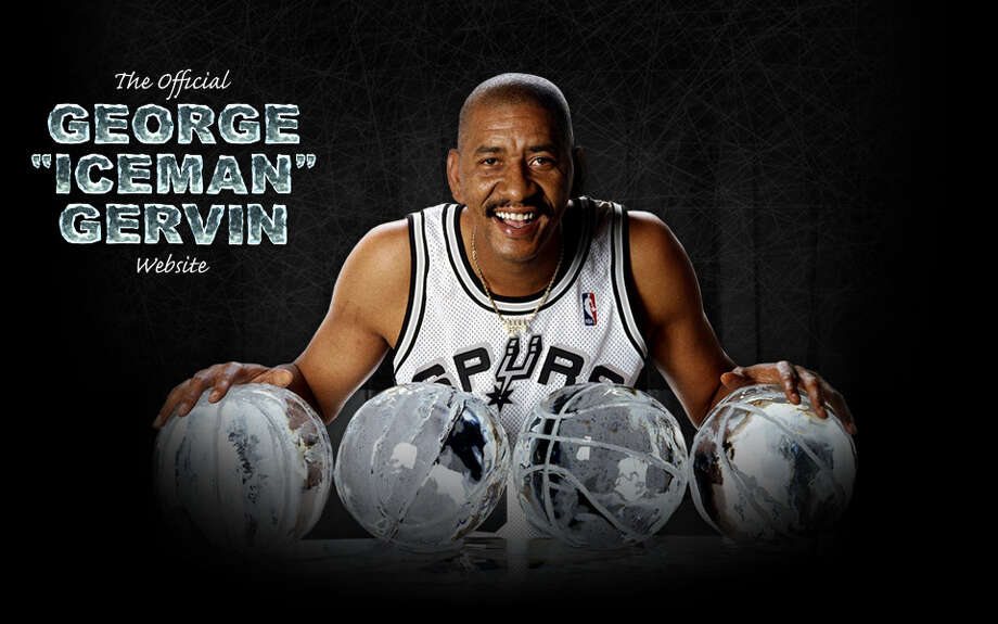 "George Gervin had one of the greatest nicknames in the history of professional sports. He was ""The Iceman"" for his cool demeanor on the court during his 14 years in the NBA and ABA, most of them with the San Antonion Spurs. Gervin became a Hall of Famer after averaging 26.2 points during his career. ""The Iceman"" was also named to the NBA's ""50 greatest players team""."