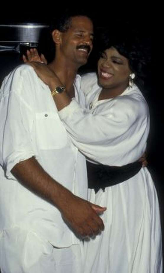Oprah Winfrey and Stedman Graham in 1987. Photo: Ron Galella, WireImage