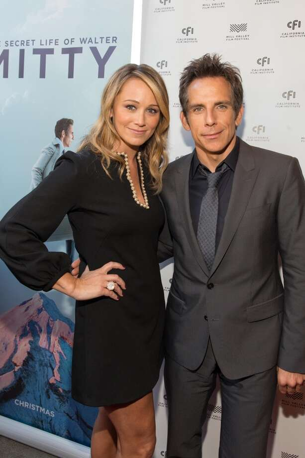 "Actors Christine Taylor and Ben Stiller met in 1999 on the set of a never-aired series pilot called ""Heat Vision and Jack"" (read about that here. They married in 2000, had two kids and went on to star in movies like ""Zoolander"" and ""Dodgeball"" together. Photo: Drew Altizer, For Drew Altizer Photography"