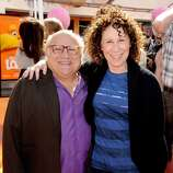 Actors Danny DeVito and Rhea Perlman began dating in 1971 and married in 1982. Though the couple split in Oct. 2012 after 30 years of marriage, they reconciled in 2013.