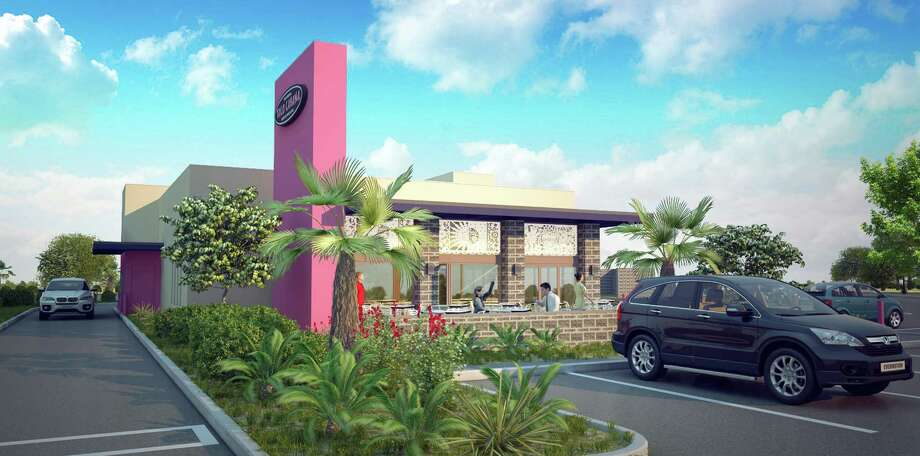 Taco Cabana will use a new prototype design for a restaurant it plans to open by late summer at Chase Hill Boulevard and Loop 1604. Illustration courtesy of Taco Cabana Photo: Courtesy Of Taco Cabana