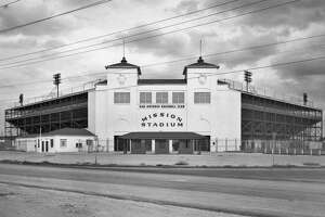 Mission Stadium, near Mission Concepción, opened in 1947 and was owned by the St. Louis Browns, also owners of the Missions ball club.