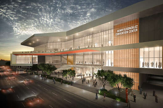 "At $325 million, the Convention Center expansion ""may be the biggest design/build project ever done in San Antonio,"" said Souter."