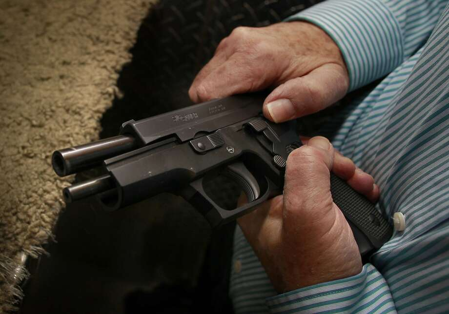 Want A Concealed Gun In California Head North Sfgate