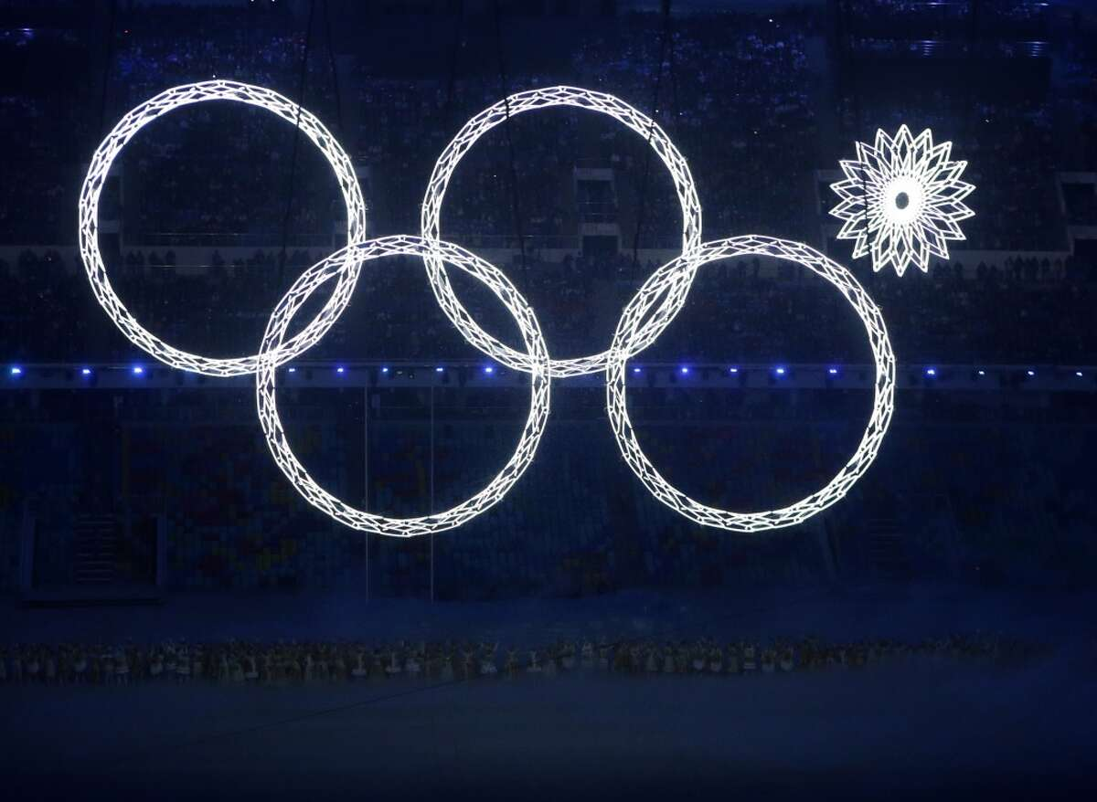 During the opening ceremony of the Sochi Winter Olympics, one of the rings forming the Olympic Rings failed to open. See some of the many dilapidated buildings left behind by past Olympic Games.