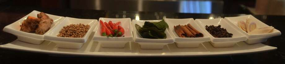 The chefs at Ichiban use only fresh herbs and spices, nothing dried or from a jar. Beth Rankin/cat5 Photo: Beth Rankin / Beth Rankin