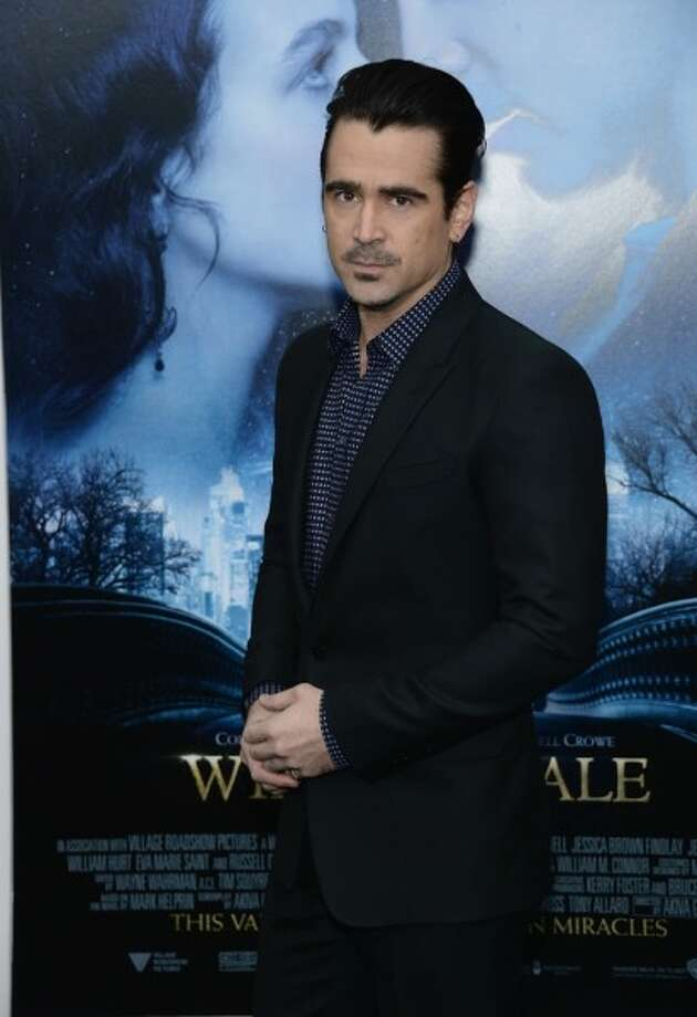 Actor Colin Farrell, whose most recent films include 2014's 'Winter's Tale' and 2013's 'Saving Mr. Banks.'
