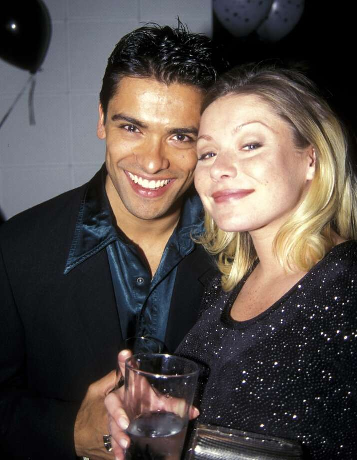 Mark Consuelos and Kelly Ripa in 1997. Photo: Ron Galella, WireImage