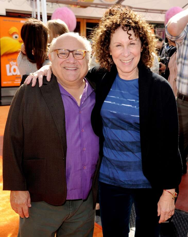 Actors Danny DeVito and Rhea Perlman began dating in 1971 and married in 1982. Though the couple split in Oct. 2012 after 30 years of marriage, they reconciled in 2013. Photo: Kevin Winter, Getty Images