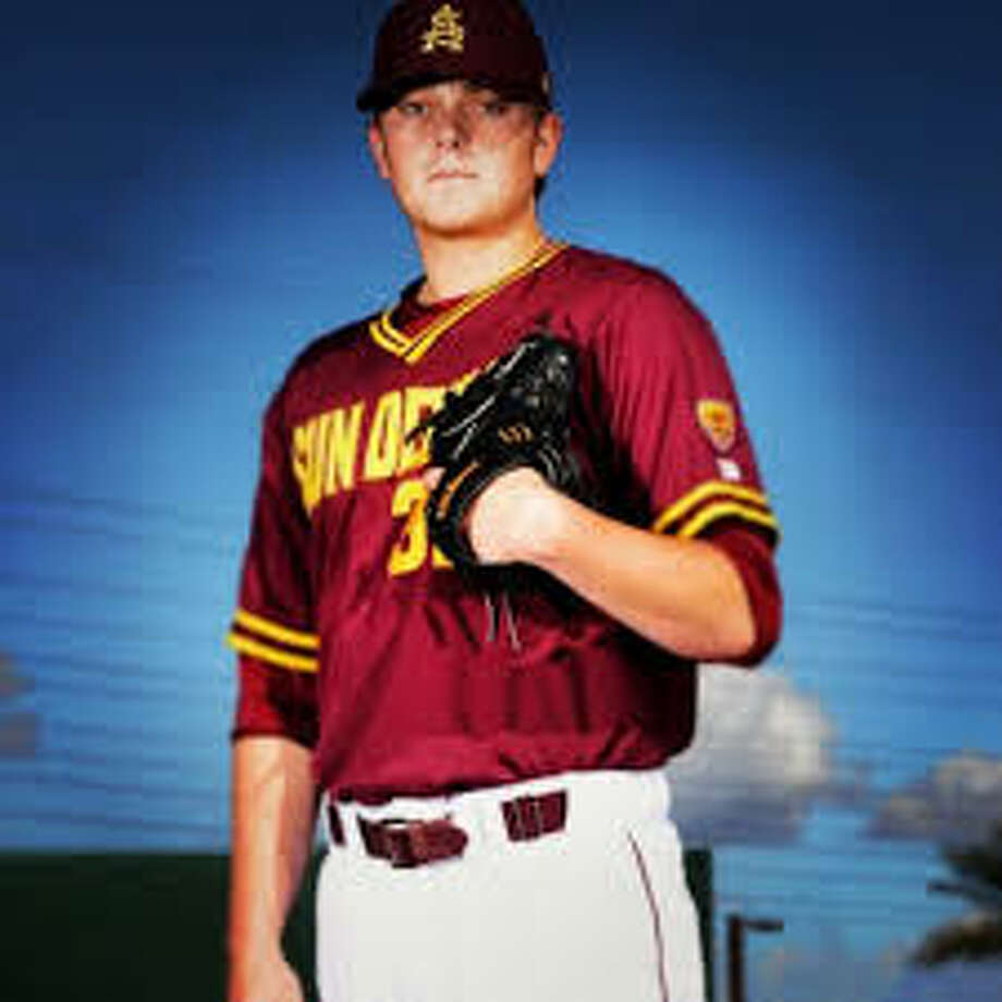Ryan Burr is a right-handed pitcher at Arizona State. In 2013, he tied the Sun Devils freshman record with 11 saves in a season