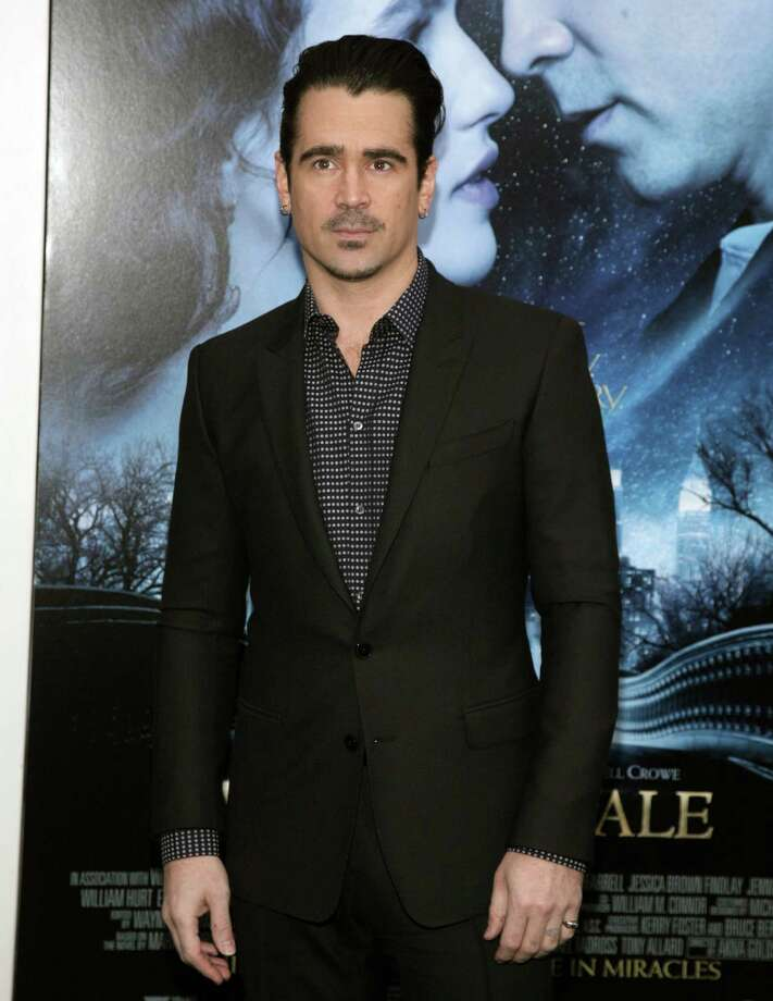 "Actor Colin Farrell attends the world premiere of ""Winter's Tale"" on Tuesday, Feb. 11, 2014, in New York. (Photo by Andy Kropa/Invision/AP) ORG XMIT: NYAK301 Photo: Andy Kropa / Invision"
