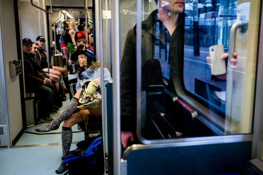 "You don't say ""light rail."" You take the ""Sounder"" or ""the train to the airport.""  Photo: JORDAN STEAD, SEATTLEPI.COM"
