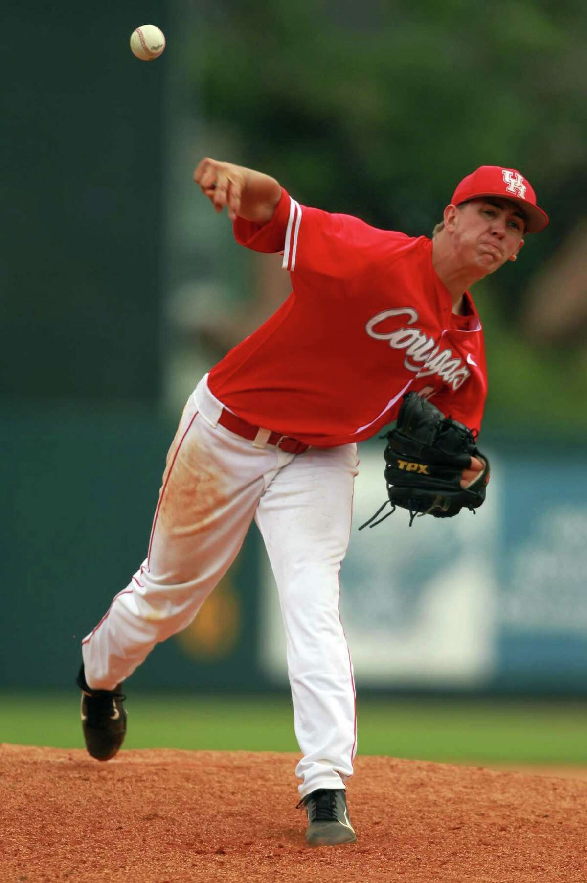 Sophomore Jake Lemoine is expected to be one of UH's top three starting pitchers in 2014.