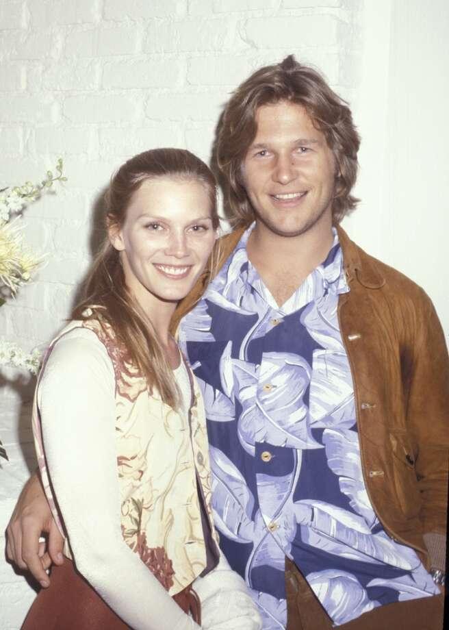 Susan Geston and Jeff Bridges in 1977. Photo: Ron Galella, WireImage
