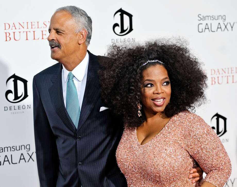 Talk show empress Oprah Winfrey and Stedman Graham have been together since 1986. They were engaged in 1992, but never married. Photo: Daniel Zuchnik, FilmMagic