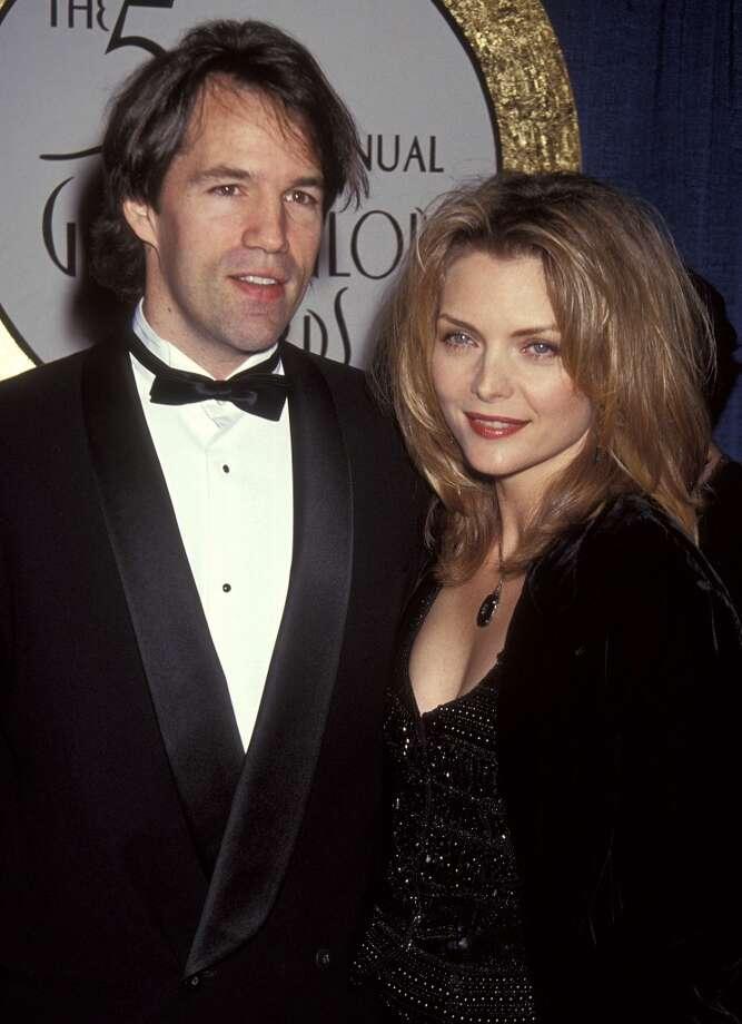 David E. Kelley and  Michelle Pfeiffer in 1993. Photo: Ron Galella, Ltd., WireImage
