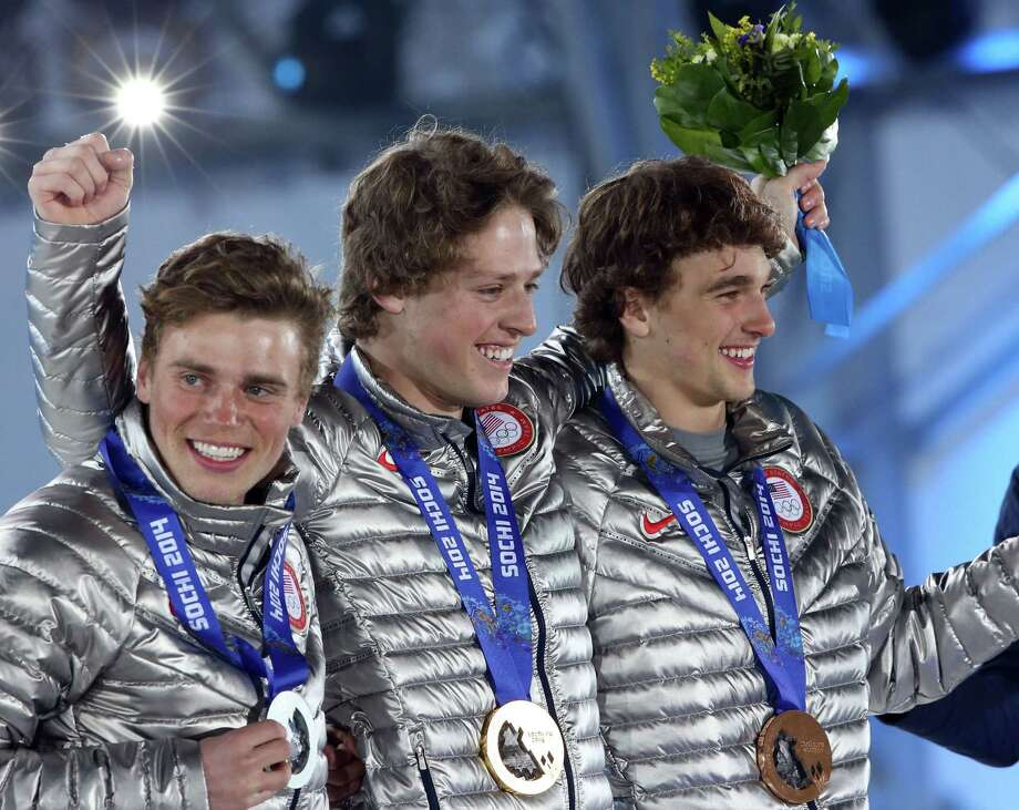 Nick Goepper (right)