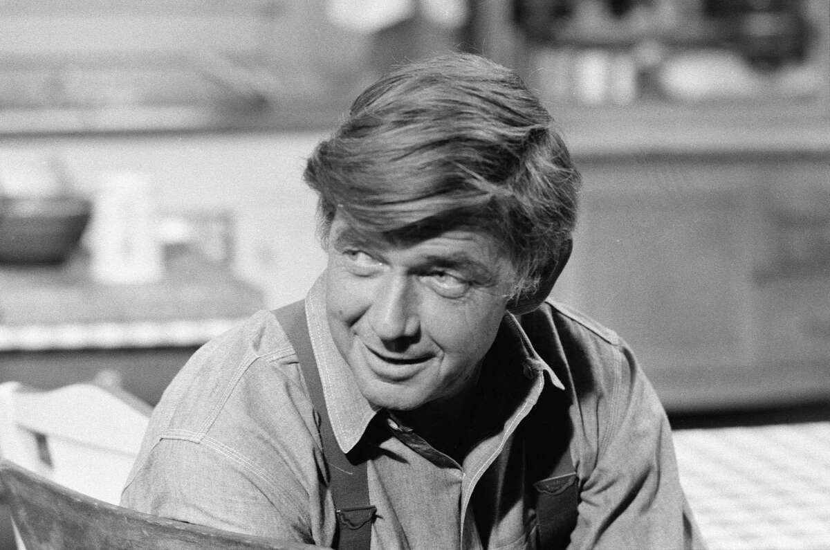 """LOS ANGELES - JUNE 9: Ralph Waite as John Walton on THE WALTONS. episode """"The Calling"""". Image dated June 9, 1978. (Photo by CBS via Getty Images)"""