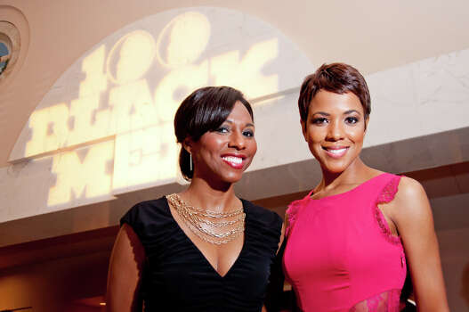 KPRC/Channel 2 anchor Irika Sargent (right) left Houston in April 2014 and moved over to Miami CBS affiliate WFOR. She's shown with Angela Martin in 2012. Photo: Grady Carter