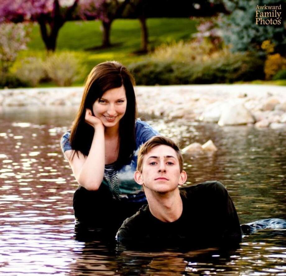 Their relationship always felt closer in the water. Photo: © AwkwardFamilyPhotos.com