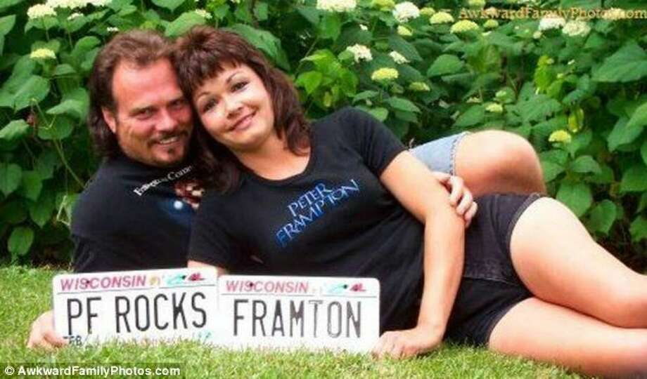 If all else failed, at least they had Peter Framton without the 'P.' Photo: © AwkwardFamilyPhotos.com